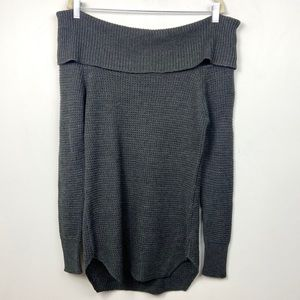 Seven Sisters Chunky Knit Off Shoulder Sweater XS
